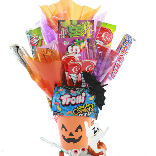 Ghostly Goodies Halloween Gift Basket