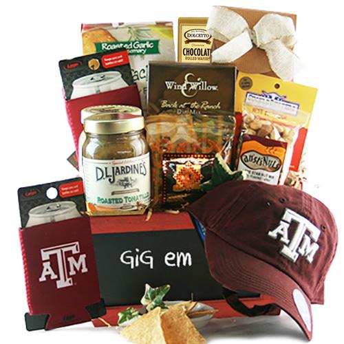 Gig Em Aggies A M Gift Basket