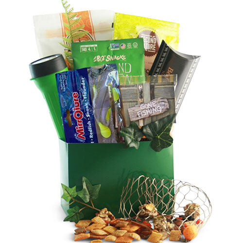 Go Fish Fishing Gift Basket