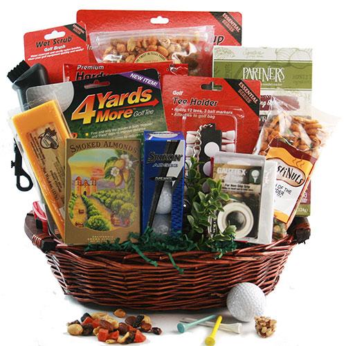 Go Long Golf Gift Basket