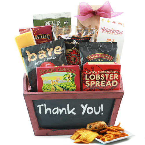Gourmet Thanks Thank You Gift Baskets