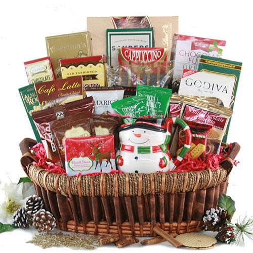 Grand Gourmet Christmas Christmas Basket