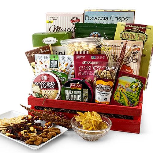 Grand Elegance Gourmet Gift Basket