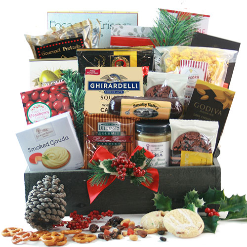 Grand Gourmet Christmas Christmas Basket