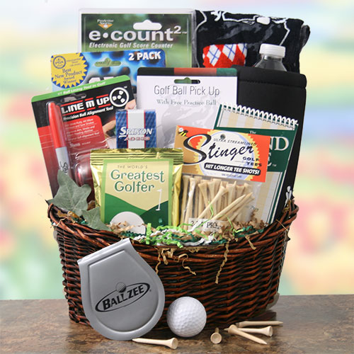 Greatest Golfer Golf Gift Basket