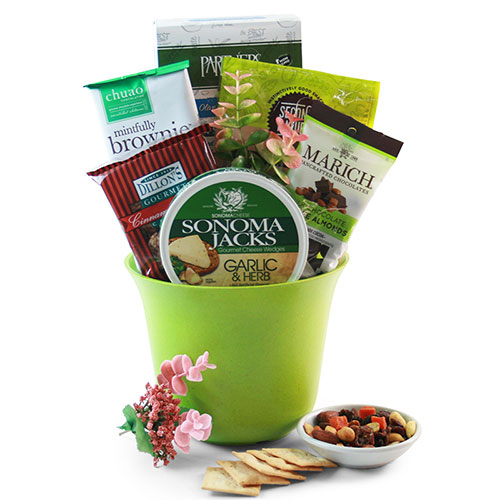 Green with Envy Spa Gift Basket