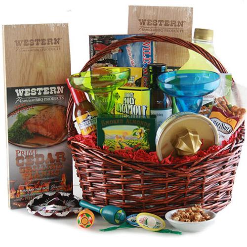 Backyard BBQ Grilling Gift Basket