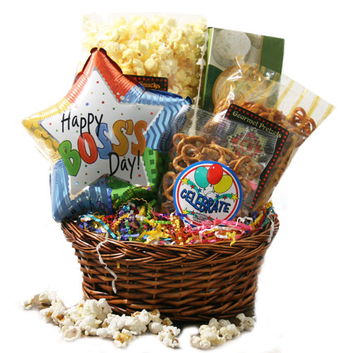 Happy Bosses Day Bosses Day Gift Basket