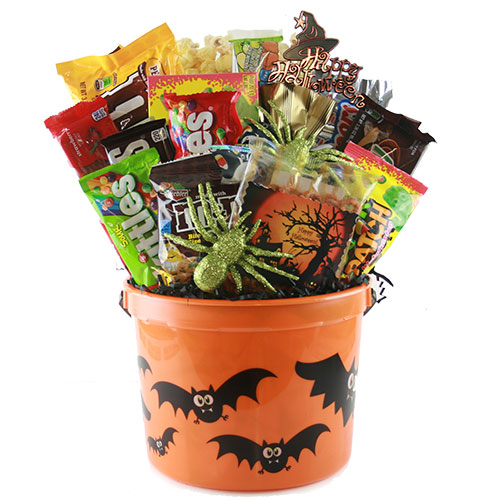 Happy Halloween Candy Gift Basket