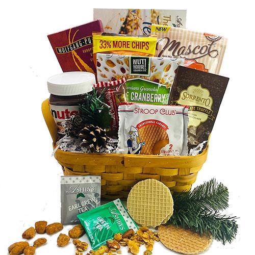 Happy Hanukkah Hannukah Gift Basket