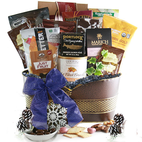 Happy Hanukkah Hannukah Gift Basket