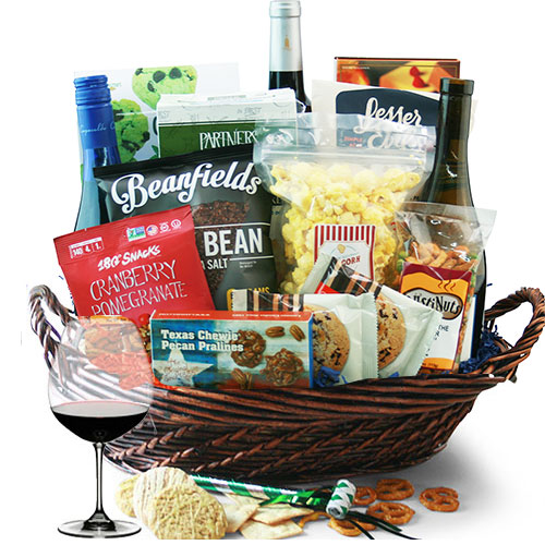 Happy Hour Wine Gift Basket