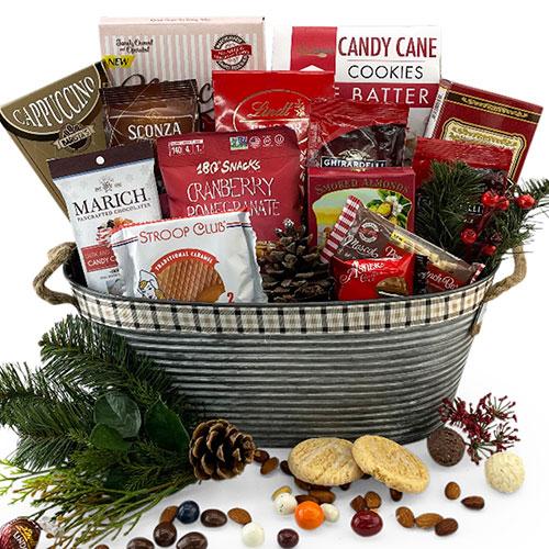 Holiday Bliss Holiday Gift Basket