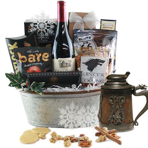 King of the North Wine Gift Basket