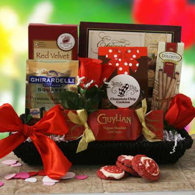 How Do I Love Thee Valentines Gift Basket