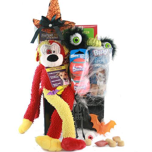 Howl o Ween Dog Basket