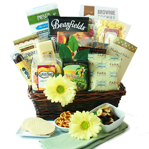 Grandparents day gifts gift baskets for grandparents diygb a hug for you gourmet gift basket negle Image collections