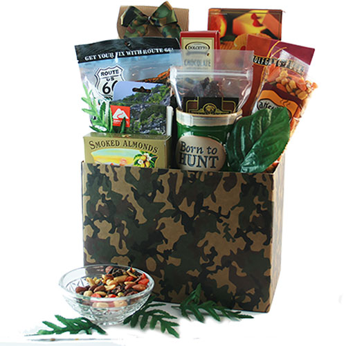 A Hunting We Will Go Hunting Gift Basket