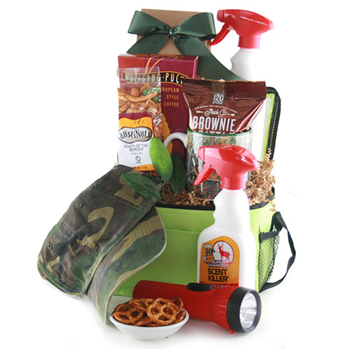 Sports Gift Baskets Hunter Survival Kit Hunting Gift