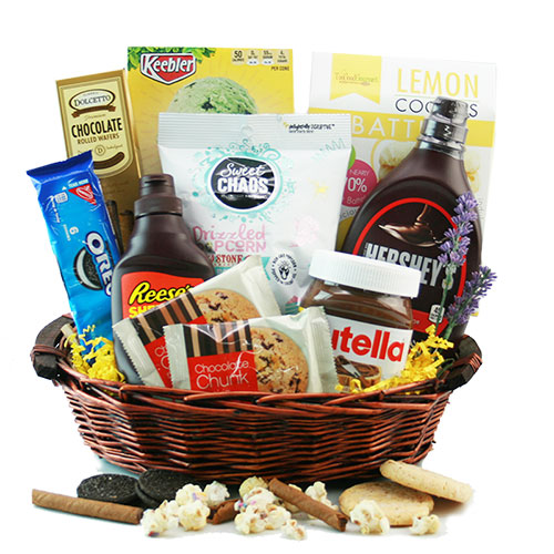 Ice Cream Social Ice Cream Gift Basket