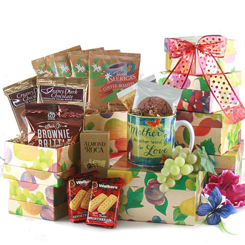Celebrate Mom Mothers Day Gift Basket