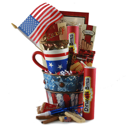 Independence Day 4th of July Gift Basket