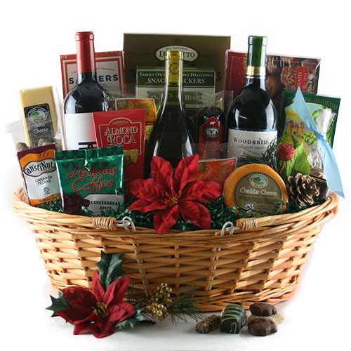 In The Spirit Christmas Gift Basket