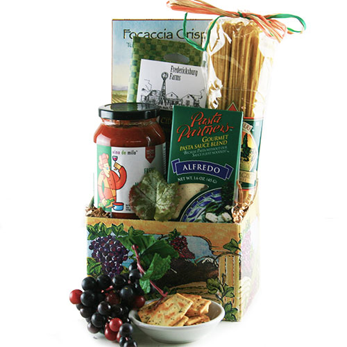 Italian Flare Italian Gift Basket