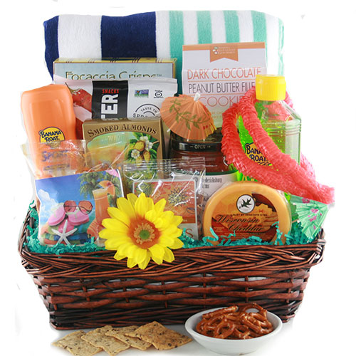 Just add Sun Summer Gift Basket