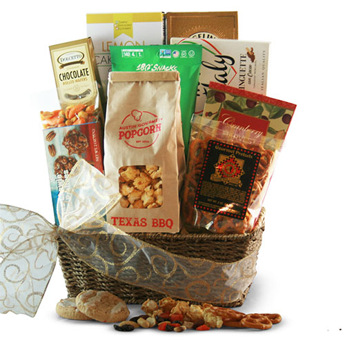 Just a Snack Snack Gift Basket
