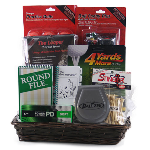 Just Fore You Golf Gift Basket