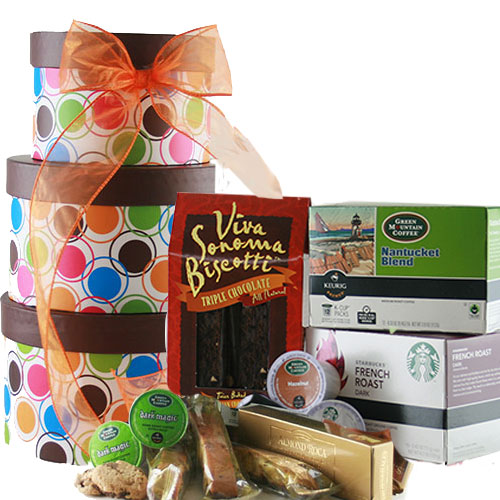 K Cup Connesseuir K Cup Coffee Gift Tower