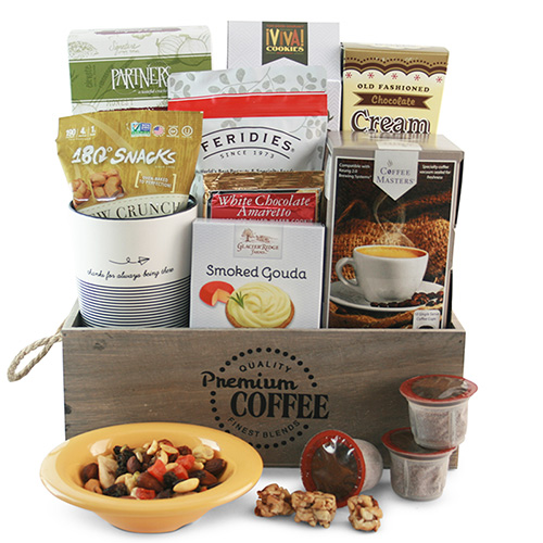 K Cup for Dad Fathers Day Gift Basket