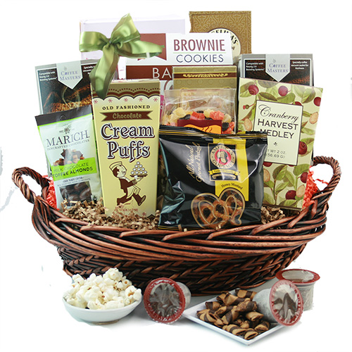Coffee Galore Gift Basket