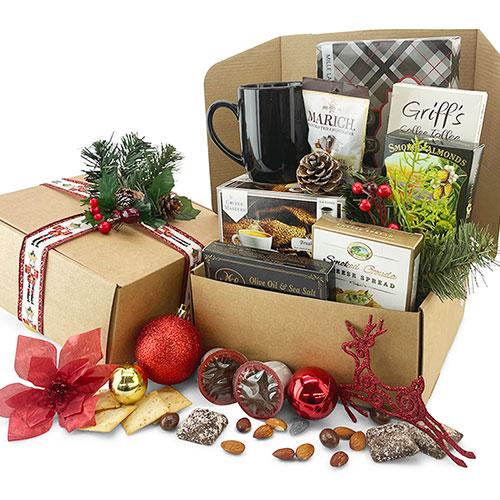 K Cup Christmas Christmas Gift Basket