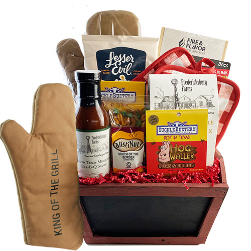 King of the Grill Fathers Day Grilling Basket