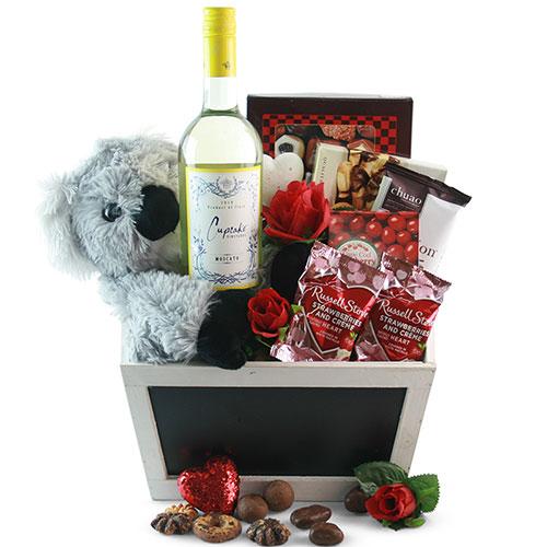 Koala ty Time Valentines Day Basket