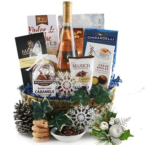 Kosher Cravings Hanukkah Gift Basket