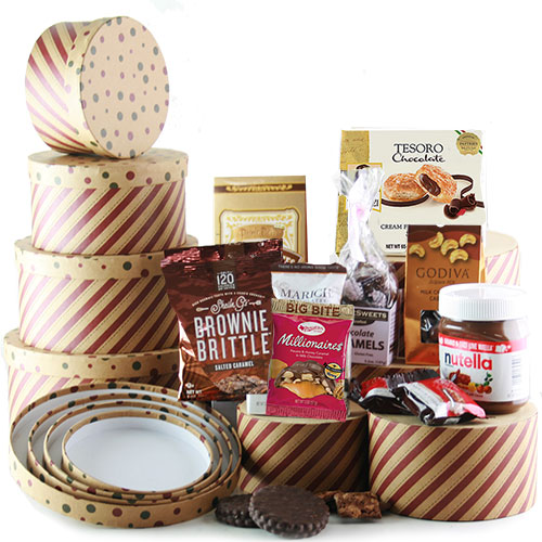 gift towers leaning tower of chocolate gift tower diygb