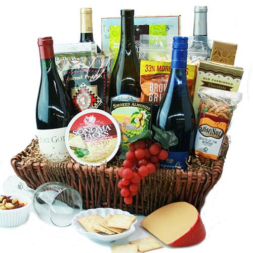 Le Connoisseur Wine Basket