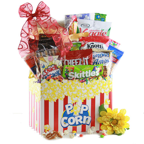 Life Saver Admin Day Snack Gift Basket