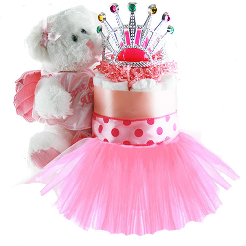 Little Princess Baby Diaper Cake