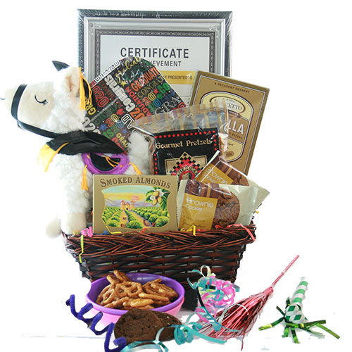 Way to Go Grad Graduation Gift Basket