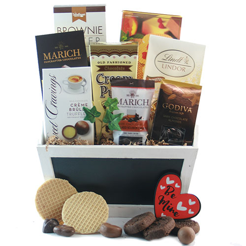 For the love of Chocolate Chocolate Gift Basket