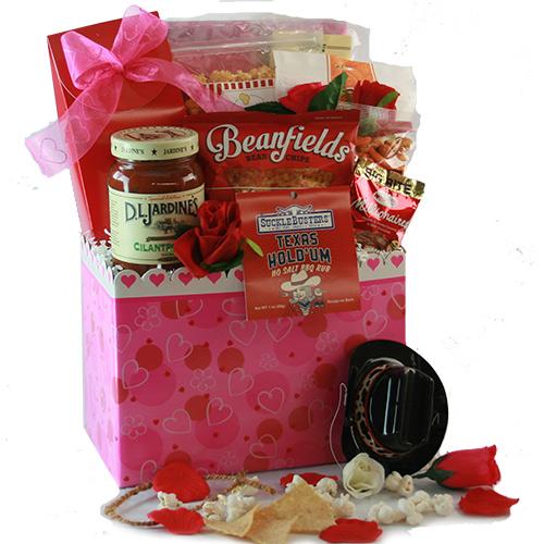 Sweet Spicy Valentines Gift Basket
