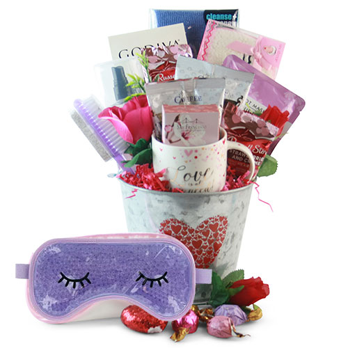 Valentine S Day Gift Baskets Love At First Sight Valentines Day