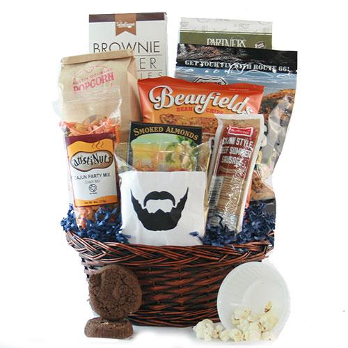 Macho Snacks Snack Gift Basket