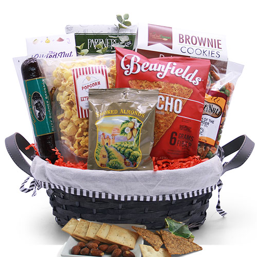 Macho Snacks Snack Gift Basket