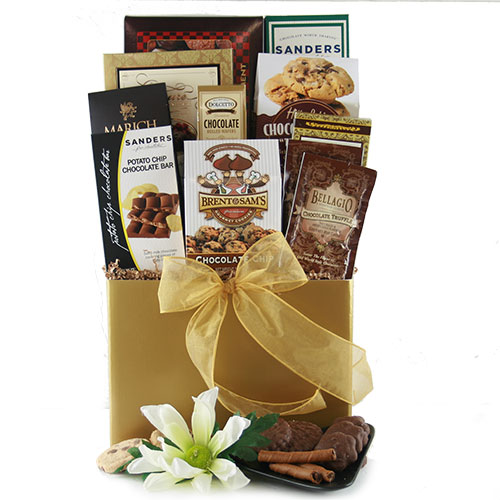 Mad About Chocolate Sm Chocolate Gift Basket
