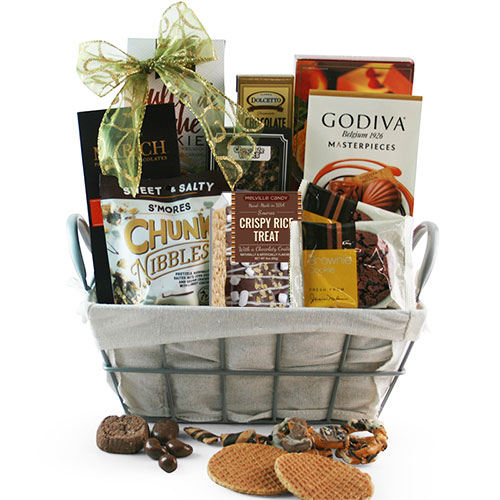 Mad About Chocolate Chocolate Gift Basket